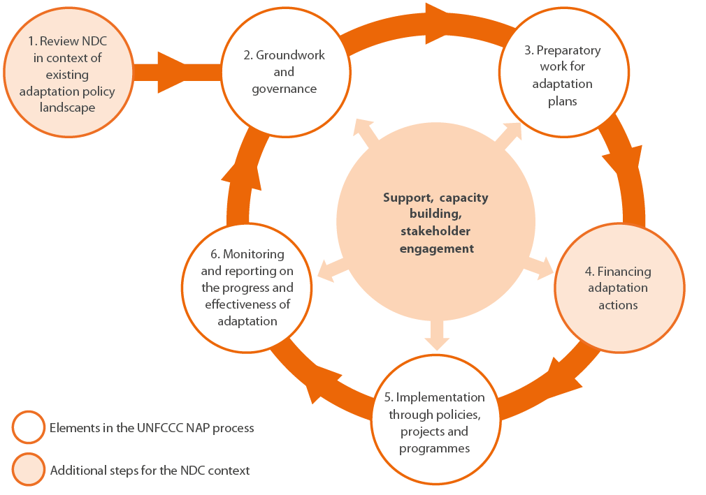 Figure 5. The adaptation planning and implementation process